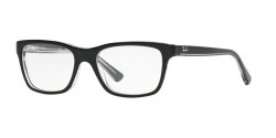 Ray-Ban Junior RY 1536 3529  TOP BLACK ON TRANSPARENT