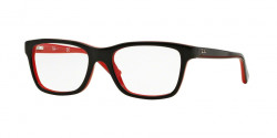 Ray-Ban Junior RY 1536 3573 TOP BLACK ON RED