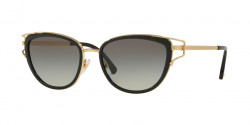 Versace VE 2203 143811  BLACK/GOLD grey gradient