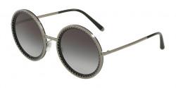 Dolce&Gabbana DG 2211 04/8G  GUNMETAL/BLACK grey gradient