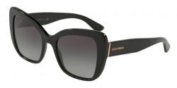 Dolce&Gabbana DG 4348 501/8G  BLACK  grey gradient