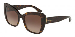 Dolce&Gabbana DG 4348 501/8G  BLACK  grey gradient