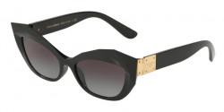 Dolce&Gabbana DG 6123 501/8G  BLACK grey gradient