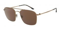 Giorgio Armani AR 6080 324873  MATTE BRUSHED BRONZE brown