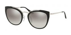 Prada PR 20 US CONCEPTUAL 4BK5O0  SILVER/BLACK/IVORY  gradient grey mirror silver