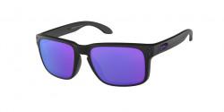 Oakley OO 9102 HOLBROOK  910226  MATTE BLACK (JULIAN WILSON) violet iridium