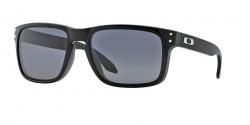 Oakley OO 9102 HOLBROOK  910202 POLISHED BLACK grey polarized