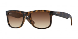 Ray-Ban RB 4165 JUSTIN 710/13 RUBBER LIGHT HAVANA brown gradient