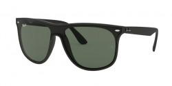 Ray-Ban RB 4447 N 601S71  MATTE BLACK green