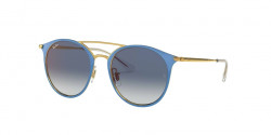 Ray-Ban RJ 9545 S 273/X0  GOLD ON TOP LIGHT BLUE blue mirror red