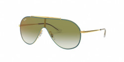 Ray-Ban RJ 9546 S 275/W0  GOLD ON TOP TURQUOISE clear grad green mirror red