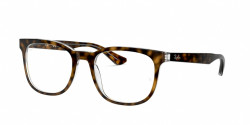 Ray-Ban RB 5369 2034  TOP BLACK ON TRANSPARENT