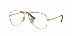 Ray-Ban RY 1089 4075  GOLD ON TOP RED