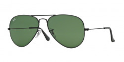 Ray-Ban RB 3025 AVIATOR L2823 BLACK grey green