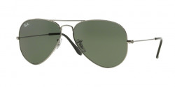 Ray-Ban RB 3025 AVIATOR W0879 GUNMETAL  grey green