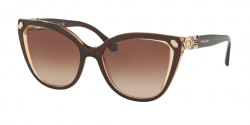 Bvlgari BV 8212 B 547213  BROWN ON TRANSPARENT BROWN brown gradient