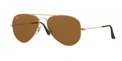 Ray-Ban RB 3025 AVIATOR 001/33  GOLD crystal brown