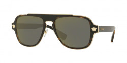 Versace VE 2199 MEDUSA CHARM 12524T  DARK HAVANA dark grey mirror gold