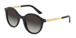 Dolce&Gabbana DG 4358 501/8G  BLACK grey gradient