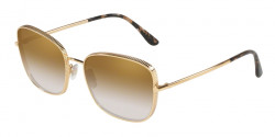 Dolce&Gabbana DG 2223 13128G  BLACK/GOLD grey gradient