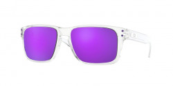 Oakley OJ 9007 HOLBROOK XS 900702  POLISHED CLEAR violet iridium