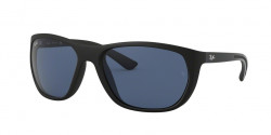 Ray-Ban RB 4307 601S80  MATTE BLACK dark blue