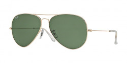 Ray-Ban RB 3025 AVIATOR 001  GOLD grey green