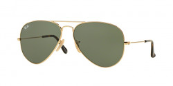 Ray-Ban RB 3025 AVIATOR 181  GOLD  dark green