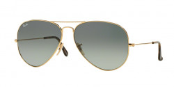Ray-Ban RB 3025 AVIATOR 181/71  GOLD  light grey gradient dark grey