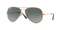 Ray-Ban RB 3025 AVIATOR 197/71  SHINY BRONZE light grey gradient dark grey