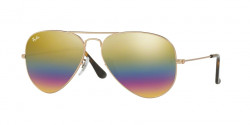 Ray-Ban RB 3025 AVIATOR L0205 GOLD  grey green