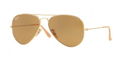 Ray-Ban RB 3025 AVIATOR 90644I  GOLD photo brown