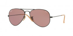 Ray-Ban RB 3025 AVIATOR 9066Z0  BALCK photo violet