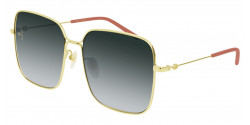 Gucci GG 0443 S 001 GOLD grey gradient