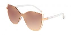 Dolce&Gabbana DG 2236 12986F  PINK GOLD gradient pink mirror pink