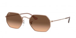 Ray-Ban RB 3556 N OCTAGONAL 9069A5  COPPER pink gradient brown