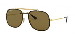 Ray-Ban RB 3583 N 001/73  GOLD dark brown