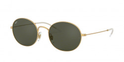Ray-Ban RB 3594 901371  RUBBER GOLD dark green