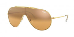 Ray-Ban RB 3597 9050Y1  GOLD orange mirror silver