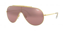 Ray-Ban RB 3597 9050Y2  GOLD  violet mirror silver