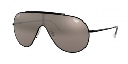 Ray-Ban RB 3597 9168Y3  BLACK dark violet mirror silver