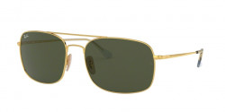 Ray-Ban RB 3611 001/31  GOLD  green