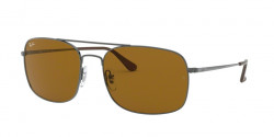 Ray-Ban RB 3611 004/33  GUNMETAL brown