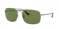 Ray-Ban RB 3611 029/O9  MATTE GUNMETAL polar green