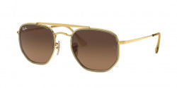 Ray-Ban RB 3648 M THE MARSHAL II 912443  GOLD brown gradient grey