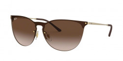 Ray-Ban RB 3652 901313  RUBBER GOLD brown gradient dark brown