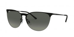 Ray-Ban RB 3652 901411  RUBBER BLACK grey gradient dark grey