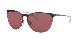 Ray-Ban RB 3652 901575  RUBBER GUNMETAL  dark violet