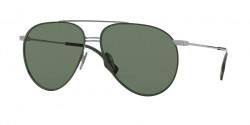 Burberry B 3108 100371  GUNMETAL/MATTE GREEN green