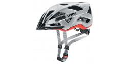 Kask rowerowy Uvex Active CC 03 silver - orange mat (srebrno - pomarańczowy mat)